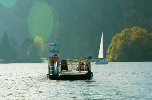 Chain Ferry at Windermere (c) Dave Willis and Cumbria Tourism