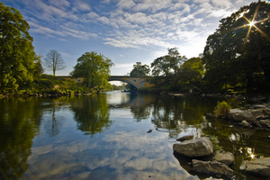 River Lune at Devils Bridge, Kirkby Lonsdale (c) Dave Willis and Cumbria Tourism