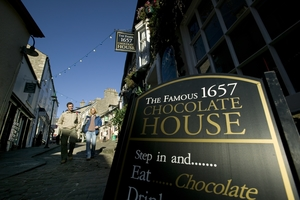 The 1657 Chocolate House in Kendal (c) Tony West and Cumbria Tourism