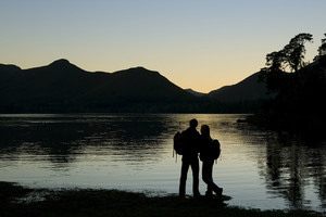 Derwentwater near Keswick (c) Tony West and Cumbria Tourism