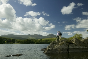 Peel Island on Coniston Water (c) Tony West and Cumbria Tourism