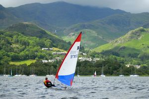 Sailing on Coniston Water (c) Dave Willis and Cumbria Tourism