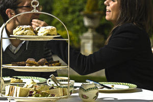 Afternoon tea at Storrs Hall Hotel (c) Dave Willis and Cumbria Tourism