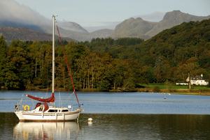 Windermere and Langdale Pikes (c) Stewart Smith and Cumbria Tourism