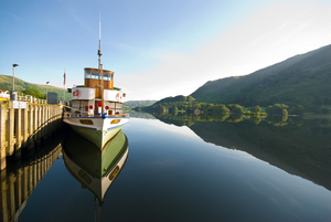 Ullswater steamers, Ullswater (c) Dave Willis and Cumbria Tourism